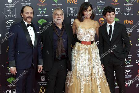 Editorial photo of 34th 'Goya' Cinema Awards 2020 Red Carpet Photocall, Malaga, Spain - 25 Jan 2020