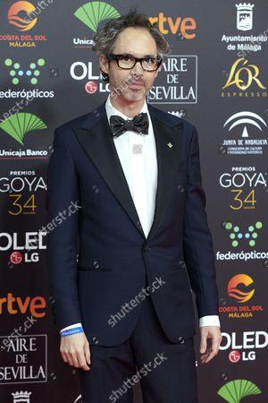 James Rhodes attends the 34th 'Goya' Cinema Awards 2020 Red Carpet photocall at Jose Maria Martin Carpena Sports Palace in Malaga, Spain on Jan 25, 2020