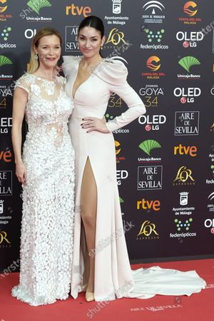 Editorial picture of 34th 'Goya' Cinema Awards 2020 Red Carpet Photocall, Malaga, Spain - 25 Jan 2020