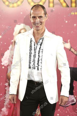 Manuel Bandera attends the 'La ultima Tourne' premiere at Calderon Theatre in Madrid, Spain, on October 29, 2020.