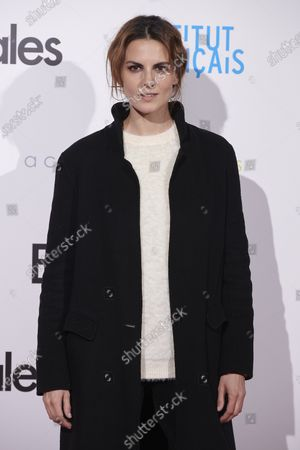 Melina Matthews attends the 'Especiales' premiere at 'French Institute' Cinema in Madrid, Spain  on Feb 5, 2020