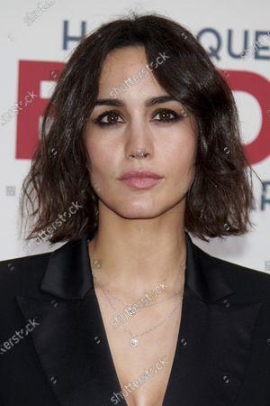 Megan Montaner attends the 'Hasta que la boda nos separe' premiere at Capitol Cinema in Madrid, Spain  on Feb 10, 2020