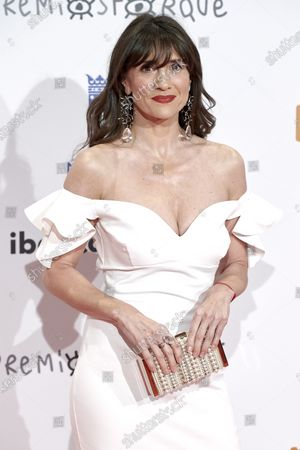 Maria Botto attends the 'Jose Maria Forque' 2020 awards Red Carpet photocall at Ifema in Madrid, Spain on Jan 11, 2020