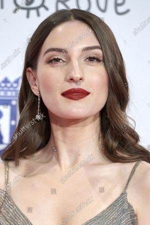 Maria Valverde attends the 'Jose Maria Forque' 2020 awards Red Carpet photocall at Ifema in Madrid, Spain on Jan 11, 2020