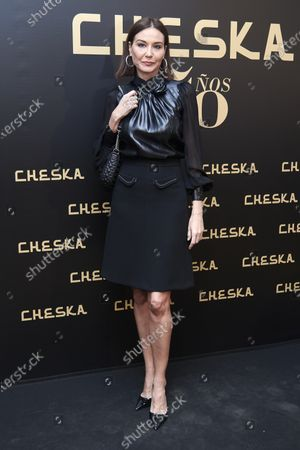 Editorial picture of Cheska 50th Anniversary In Madrid, Spain - 05 Mar 2020