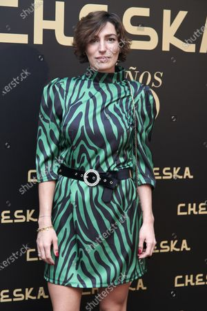 Eugenia Ortiz Domeq attends the 50th Cheska Anniversary photocall at Santa Barbara Palace in Madrid, Spain on Mar 5, 2020
