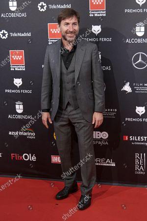 Antonio de la Torre attends the 'FEROZ' awards 2020 Red Carpet photocall at Teatro Auditorio Ciudad de Alcobendas in Madrid, Spain on Jan 16, 2020