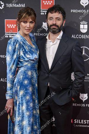Marta Nieto, Rodrigo Sorogoyen attends the 'FEROZ' awards 2020 Red Carpet photocall at Teatro Auditorio Ciudad de Alcobendas in Madrid, Spain on Jan 16, 2020
