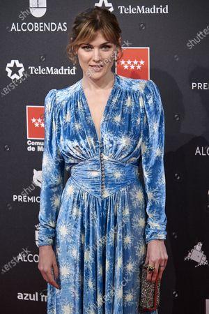 Marta Nieto attends the 'FEROZ' awards 2020 Red Carpet photocall at Teatro Auditorio Ciudad de Alcobendas in Madrid, Spain on Jan 16, 2020