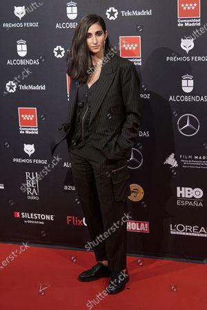 Alba Flores attends the 'FEROZ' awards 2020 Red Carpet photocall at Teatro Auditorio Ciudad de Alcobendas in Madrid, Spain on Jan 16, 2020