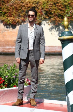 Stock Photo of Maximilian Befort is seen arriving at the Excelsior during the 77th Venice Film Festival on September 08, 2020 in Venice, Italy.