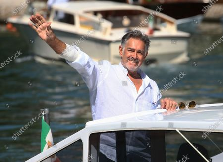 Stock Image of Fabio Testi is seen arriving at the Excelsior during the 77th Venice Film Festival on September 08, 2020 in Venice, Italy.