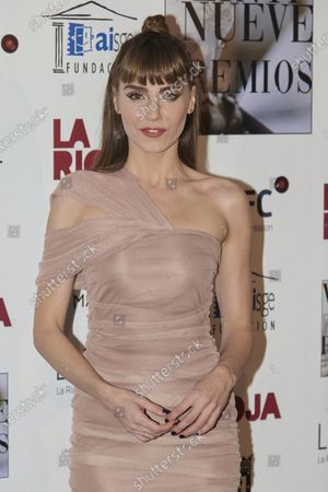 Irene Arcos attends the 29th 'Union de Actores' Awards photocall at Circo Price in Madrid, Spain on Mar 9, 2020