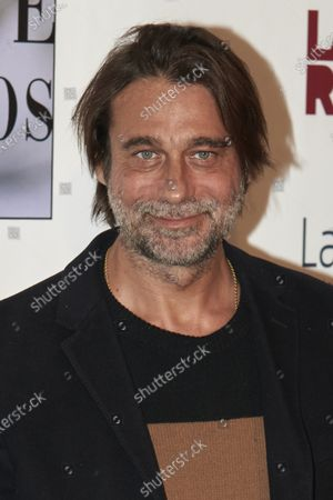 Stock Image of Jordi Molla attends the 29th 'Union de Actores' Awards photocall at Circo Price in Madrid, Spain on Mar 9, 2020