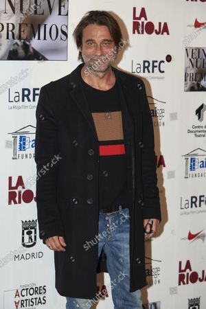 Jordi Molla attends the 29th 'Union de Actores' Awards photocall at Circo Price in Madrid, Spain on Mar 9, 2020