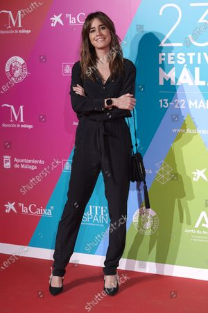 Isabel Jimenez attends the 23rd Malaga Film Festival Cocktail Party photocall at Circulo de las Artes in Madrid, Spain on Mar 3, 2020