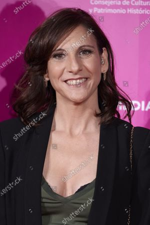 Malena Alterio attends the 23rd Malaga Film Festival Cocktail Party photocall at Circulo de las Artes in Madrid, Spain on Mar 3, 2020