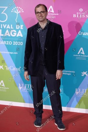 Stock Photo of Paco Cabezas attends the 23rd Malaga Film Festival Cocktail Party photocall at Circulo de las Artes in Madrid, Spain on Mar 3, 2020