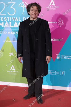 Pedro Casablanc attends the 23rd Malaga Film Festival Cocktail Party photocall at Circulo de las Artes in Madrid, Spain on Mar 3, 2020