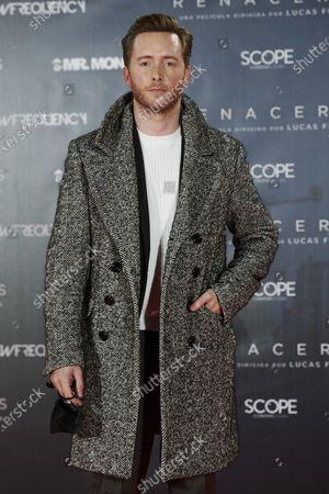 Pablo Rivero attends the 'Renaceres' premiere at Gran Principe Pio Theatre in Madrid, Spain