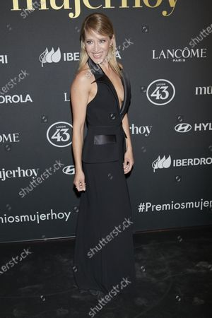 Marta Larralde attends the 'Mujer Hoy' 2020 Awards at Real Casa de Correos in Madrid, Spain on Feb 25, 2020