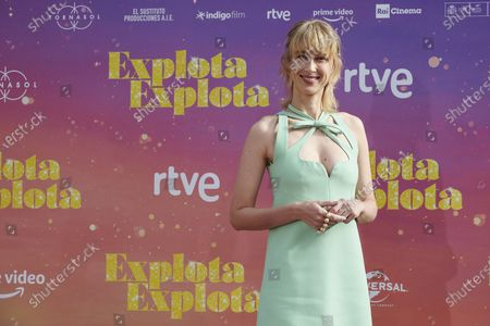 Ingrid Garcia Jonsson attends the 'Explota Explota' photocall at Santa Barbara Palace in Madrid, Spain, on September 29, 2020.