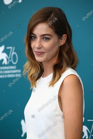 """Stock Picture of Victoria Guerra attends """"A Herdade"""" (The Domain) photocall during the 76th Venice Film Festival on September 05, 2019 in Venice, Italy."""