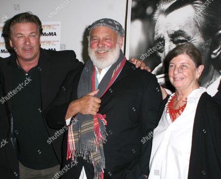 Alec Baldwin, Bruce Weber and Nan Bush