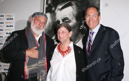 Bruce Weber, Nan Bush and Stuart Suna