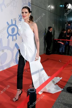 Mar Saura attends the red carpet during 'Jose Maria Forque Awards' 2020 at Ifema on January 11, 2020 in Madrid, Spain.