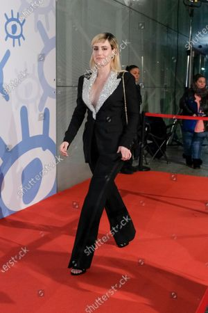 Natalia de Molina attends the red carpet during 'Jose Maria Forque Awards' 2020 at Ifema on January 11, 2020 in Madrid, Spain.