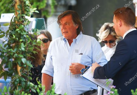 Adriano Panatta is seen during the 75th Venice Film Festival on September 4, 2018 in Venice, Italy.