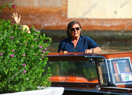 Stock Picture of Adriano Panatta is seen during the 75th Venice Film Festival on September 3, 2018 in Venice, Italy.