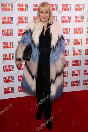 Nicki Chapman attends the press night performance of ''Pretty Woman'' at the Piccadilly Theatre on March 2, 2020 in London, England.
