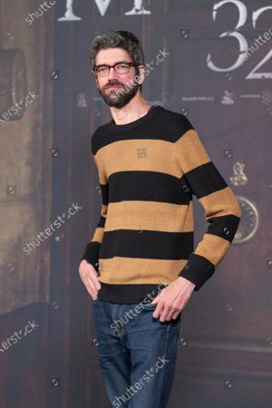 javier Botet attends 'Malasaña 32' photocall on January 13, 2020 in Madrid, Spain
