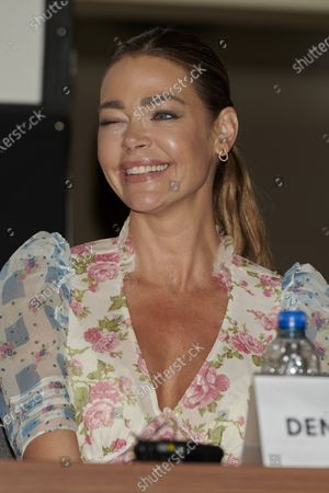Stock Photo of Denise Richards attends the 'Glow and Darkness' presentation photocall at Westin Palace Hotel in Madrid, Spain