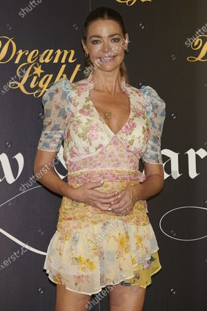 Stock Image of Denise Richards attends the 'Glow and Darkness' presentation photocall at Westin Palace Hotel in Madrid, Spain