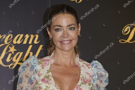 Stock Picture of Denise Richards attends the 'Glow and Darkness' presentation photocall at Westin Palace Hotel in Madrid, Spain