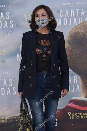 Editorial image of ''Cartas Mojadas'' Premiere In Madrid, Spain - 08 Oct 2020