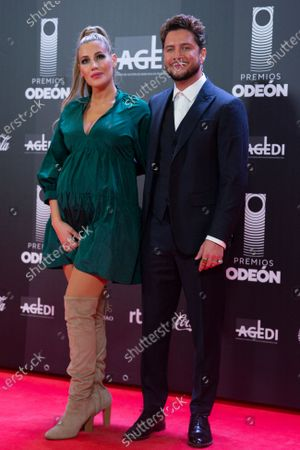 Stock Picture of Manuel Carrasco pose for the photographers prior to the Odeon Music Awards gala at the Royal Theater in Madrid, Spain, 20 January 2020. The Odeon awards honor the best Spanish albums and singers of the previous year