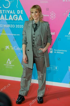Natalia de Molina  during the photocall presentation  of the Malaga festival  on March 03, 2020 in Madrid, Spain.