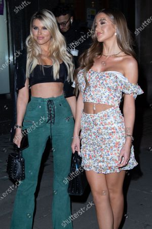 Stock Picture of Georgia Steel, Hayley Hughes attends The Style Launch Party at Tape London, in London, United Kingdom, on February 27, 2020.