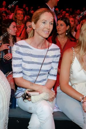 Stock Picture of Miranda Rijnsburger  in Front Row  during the Mercedes Benz Fashion Week Spring/Summer 2020 on July 08, 2019 in Madrid, Spain.