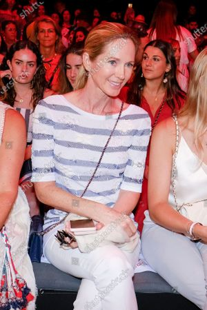Stock Photo of Miranda Rijnsburger in Front Row  during the Mercedes Benz Fashion Week Spring/Summer 2020 on July 08, 2019 in Madrid, Spain.