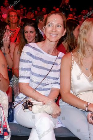 Stock Image of Miranda Rijnsburger in Front Row  during the Mercedes Benz Fashion Week Spring/Summer 2020 on July 08, 2019 in Madrid, Spain.