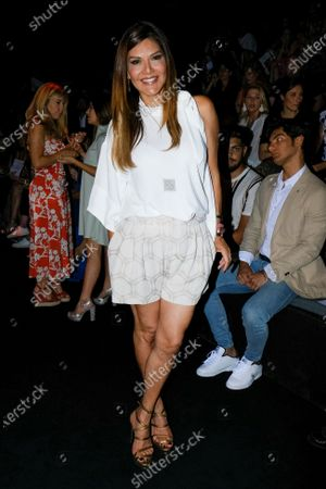 Ivonne Reyes in Front Row  during the Mercedes Benz Fashion Week Spring/Summer 2020 on July 08, 2019 in Madrid, Spain.