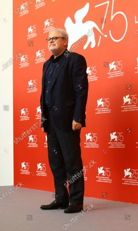 Roberto Ando attends 'Una Storia Senza Nome' photocall during the 75th Venice Film Festival on September 7, 2018 in Venice, Italy.