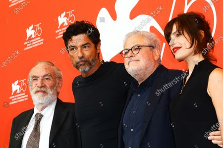 Editorial photo of 'Una Storia Senza Nome' Photocall - 75th Venice Film Festival, Italy - 07 Sep 2018