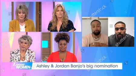 Ruth Langsford, Penny Lancaster, Gloria Hunniford, Brenda Edwards, Ashley Banjo, Jordan Banjo