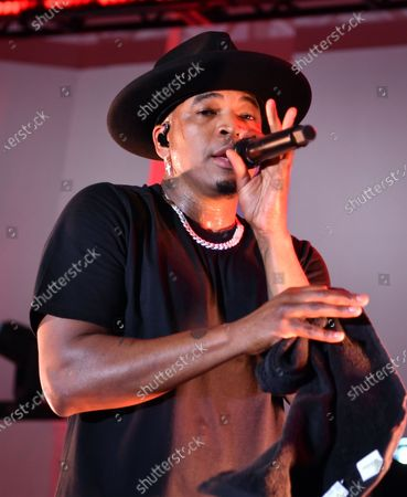 Ne-Yo performs at the Northwell Health 'Side By Side' Memorial Day Concert Honoring Military and Health Care Workers at the World Trade Observatory in New York City.